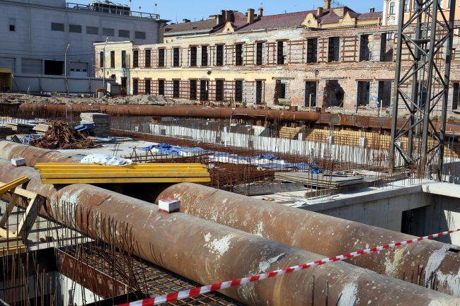 казармы Семёновского полка строительство новой сцены МДТ
