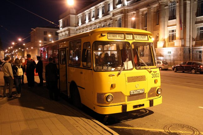 Ночь музеев 2018 музей автобусов ретро автобус лиаз 677