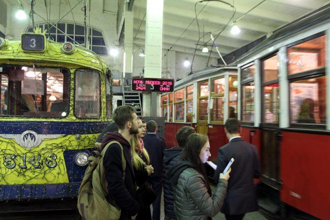 Ночь музеев 2018 музей электрического транспорта трамваи