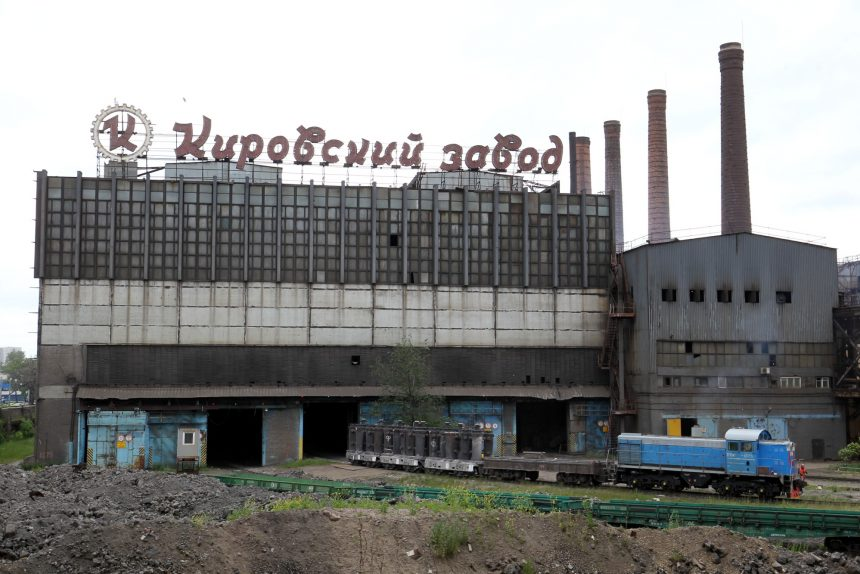 Кировский завод промышленность железная дорога маневровый тепловоз локомотив