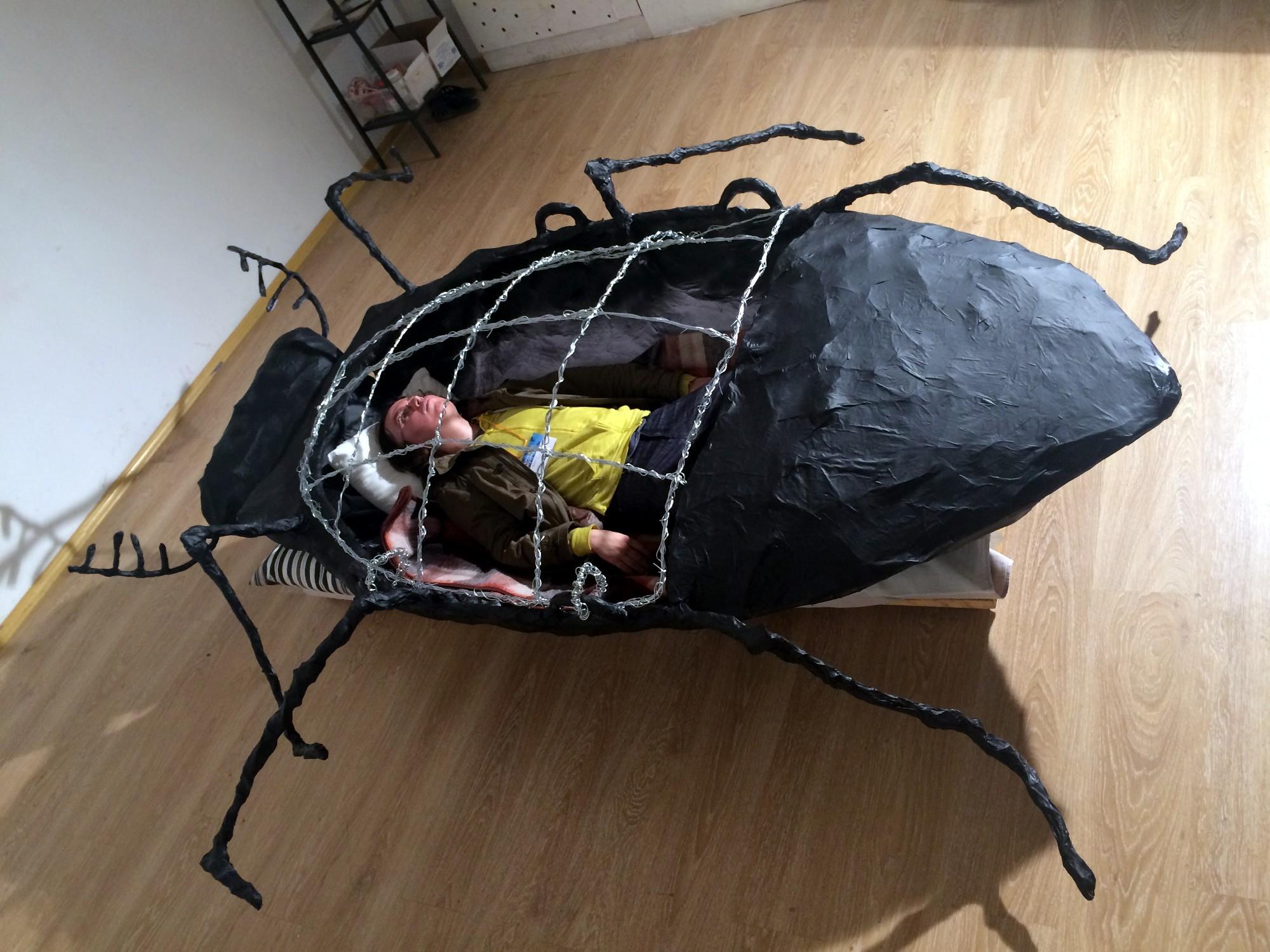 Ночь музеев 2018 библиотека Лиговский 99 жуки метаморфозы Франц Кафка