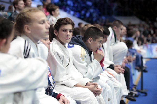 турнир по дзюдо памяти Анатолия Рахлина детский спорт