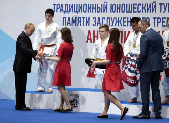 турнир по дзюдо памяти Анатолия Рахлина детский спорт Владимир Путин