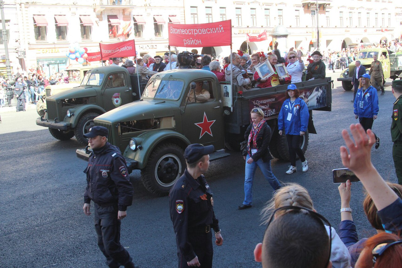 День Победы в Петербурге. Текстовая трансляция