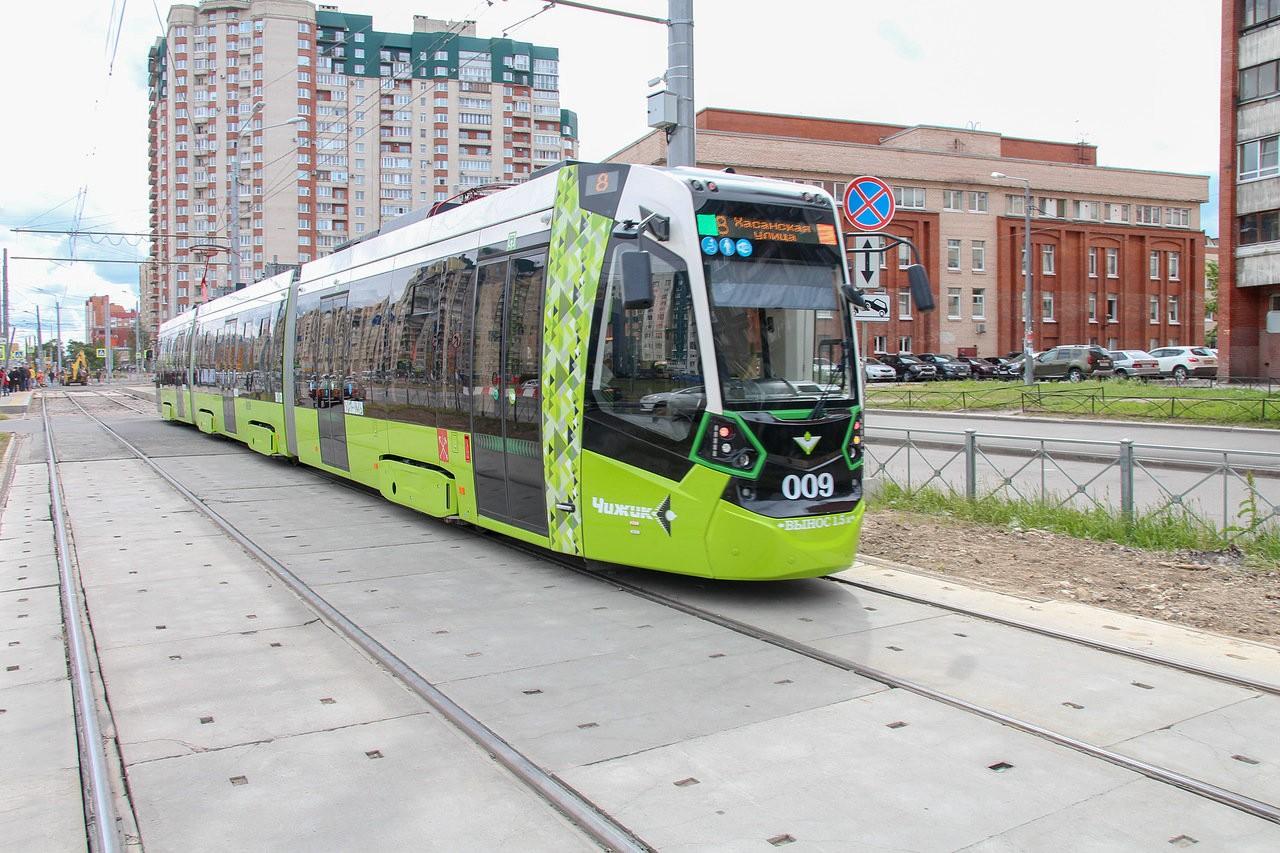 частный трамвай Красногвардейский район