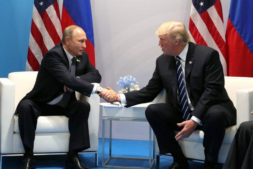 владимир путин дональд трамп россия сша