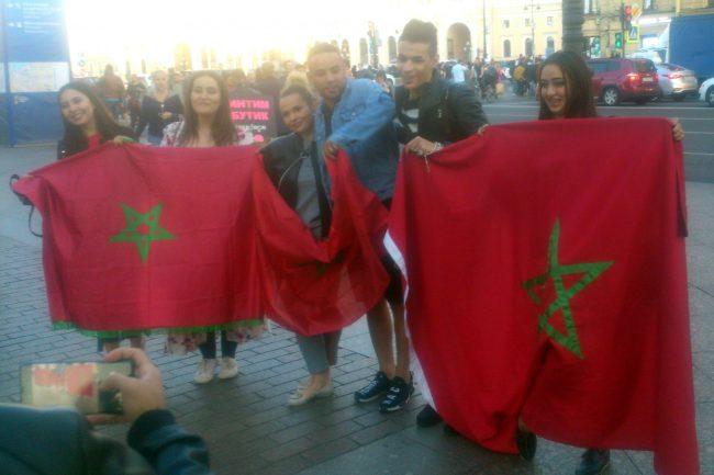 ЧМ-2018 чемпионат мира фанаты болельщики сборной Марокко