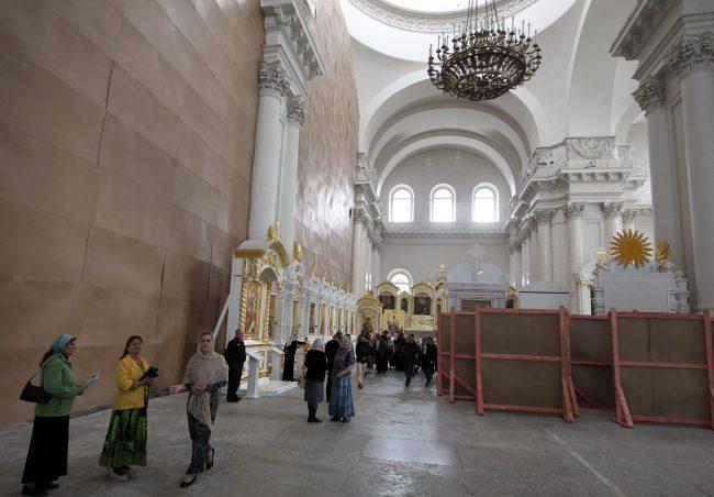 Смольный собор реставрация