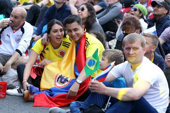 ЧМ-2018 фанатка болельщица сборной Колумбии