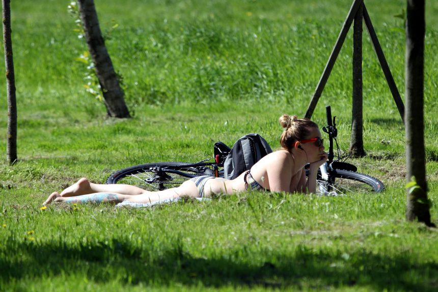 Синоптики прогнозируют тёплое лето в России