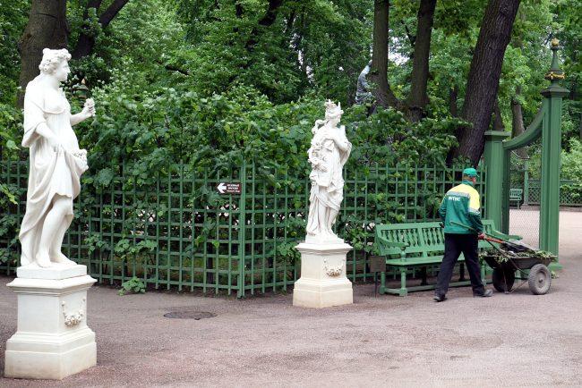 Летний Сад скульптуры статуи