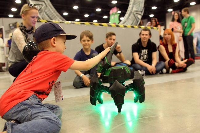 Старкон 2018 робототехника дети