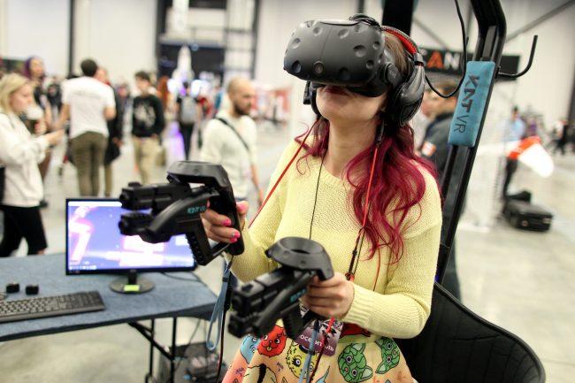 Старкон 2018 виртуальная реальность очки 3D новые технологии