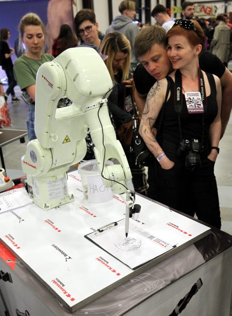 Старкон 2018 робототехника