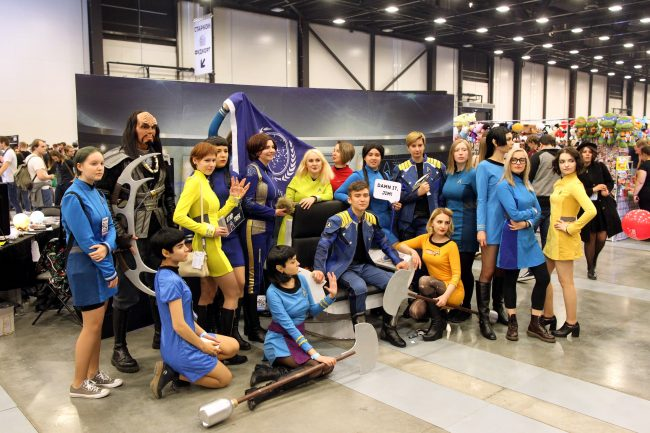 Старкон 2018 косплей Звёздный путь Star Trek