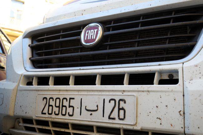 фургон Fiat марокканские болельщики фанаты ЧМ-2018