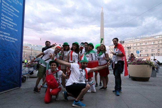 ЧМ-2018 фанаты болельщики сборной Ирана
