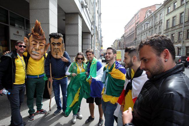 ЧМ-2018 фанаты болельщики сборной Бразилии