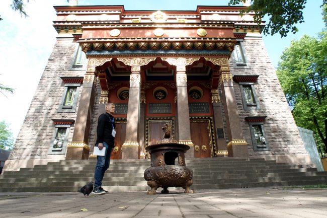 Дацан Гунзэчойнэй буддийских храм