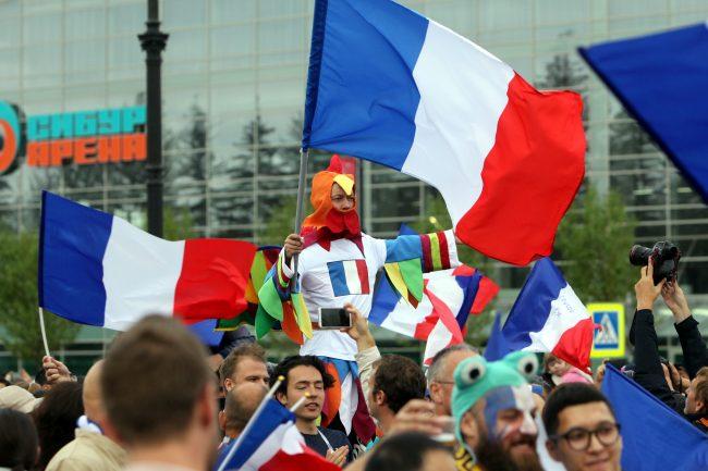 ЧМ-2018 футбол болельщики фанаты Франция