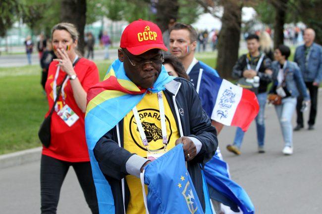 ЧМ-2018 футбол болельщики фанаты Бельгия негр