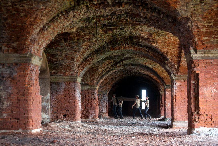 Кронштадт форт реконструкция