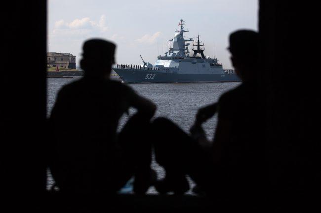 Кронштадт военно-морской флот корабль корвет Бойкий