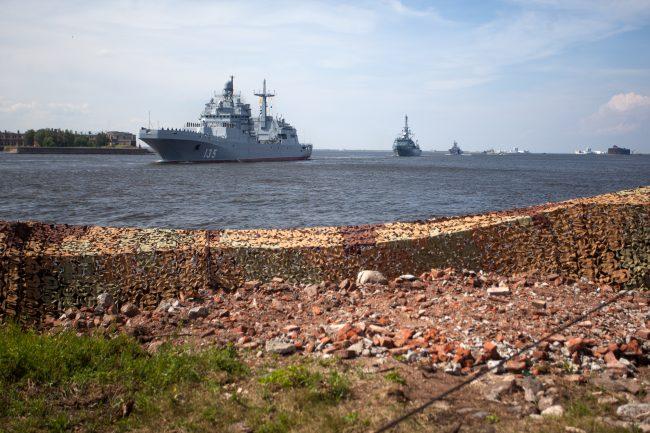 Кронштадт военно-морской флот десантный корабль Иван Грен
