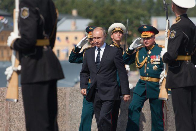 день ВМФ главный военно-морской парад Владимир Путин