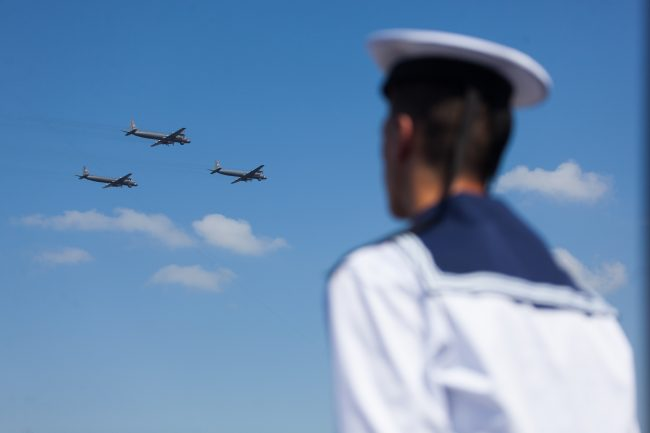 день ВМФ главный военно-морской парад авиация боевые самолёты