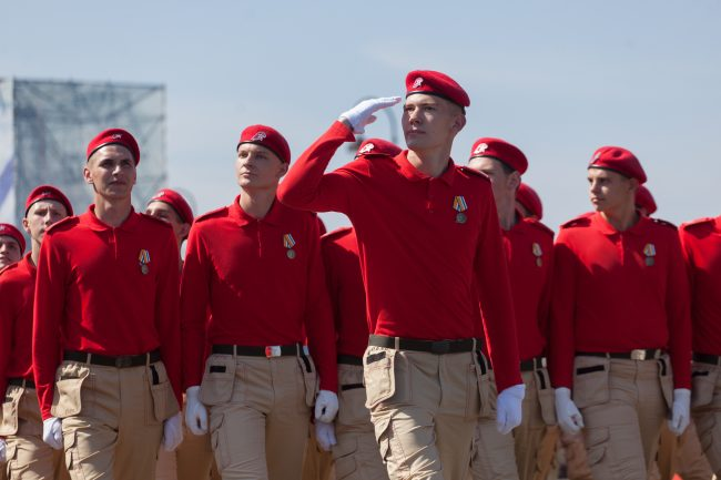 день ВМФ главный военно-морской парад курсанты