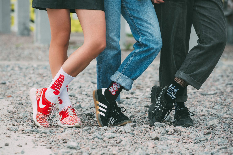 На Urban Culture Festival презентуют носки с граффити