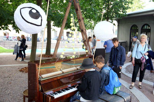 День Достоевского Новая Голландия дети фортепиано музыка
