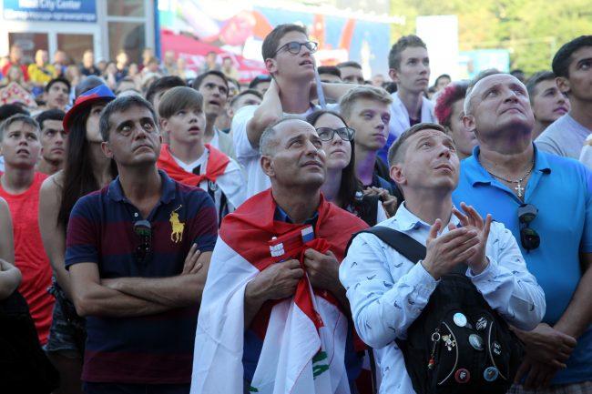 ЧМ-2018 футбол фанаты болельщики