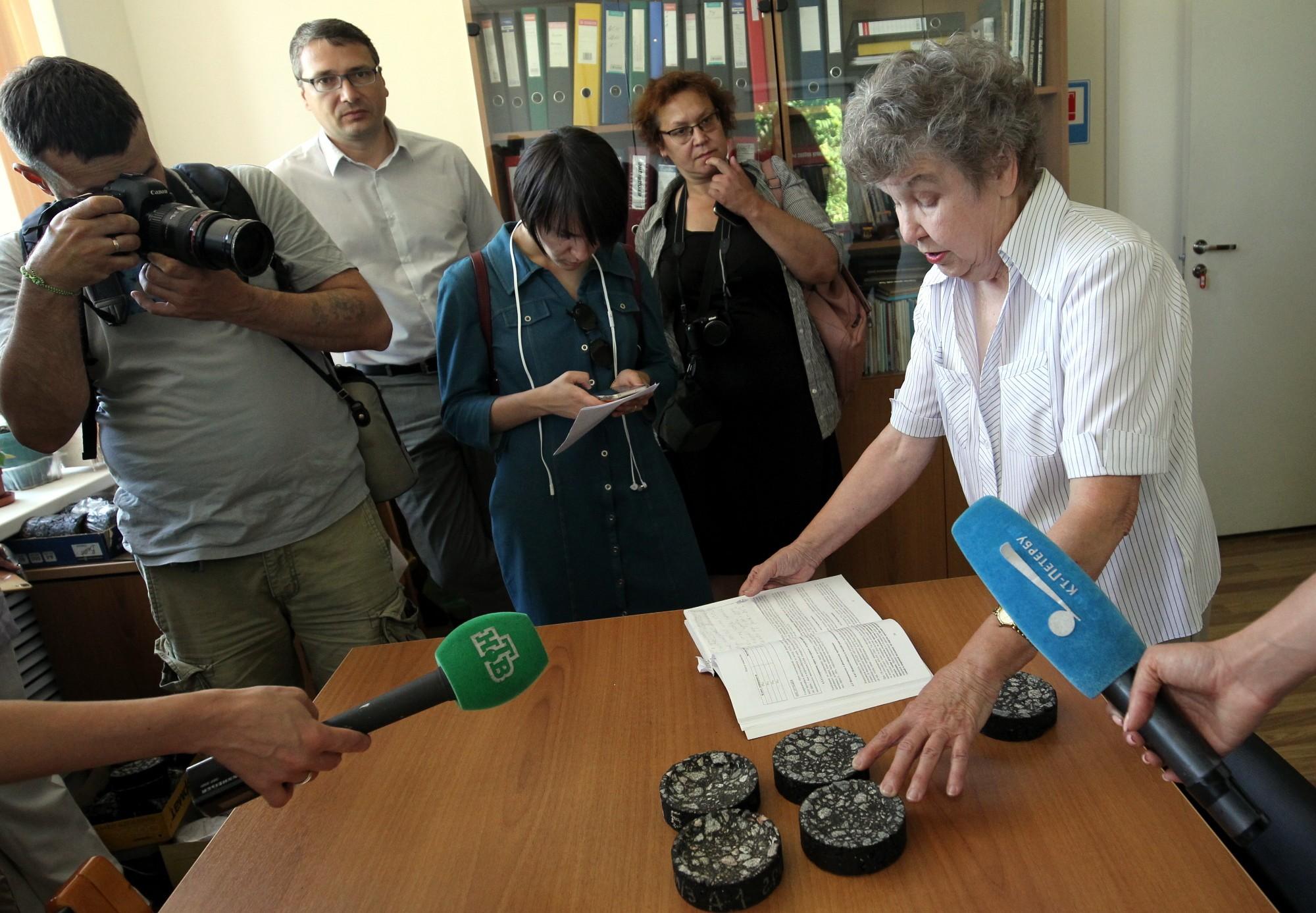 Начальник Дорожно-строительной испытательной лаборатории при Центре комплексного благоустройства Алевтина Масюк