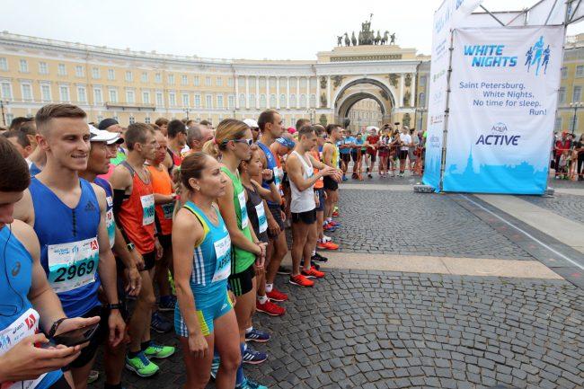 спортсмены бег лёгкая атлетика марафон Белые Ночи Татьяна Арясова