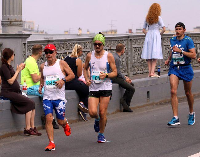 спортсмены бег лёгкая атлетика марафон Белые Ночи Андрей Чепакин
