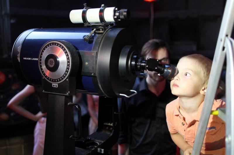 планетарий телескоп астрономия дети