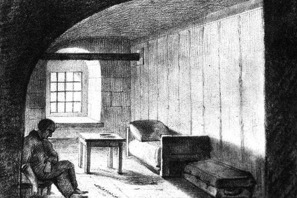 Секретный дом Алексеевского равелина. Фото 1860-х гг. http://www.encspb.ru