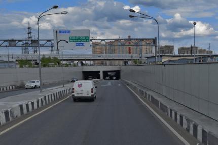 Токсовский тоннель КАД