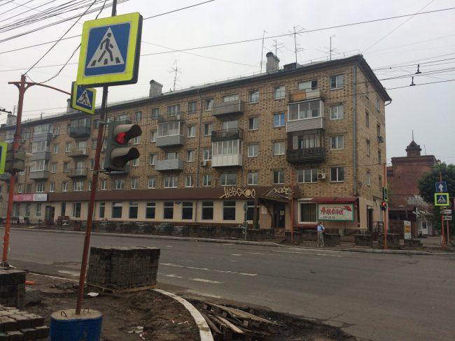 Красноярск 16 - кафе снаружи