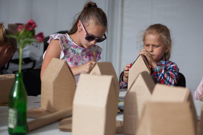социально-благотворительная акция Будь с городом дети ремесло творчество квест