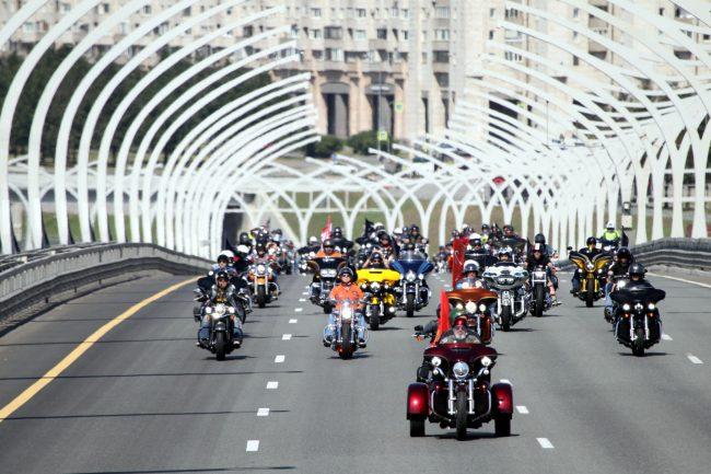 мотопробег мотофестиваль Harley Days мотоциклисты байкеры ЗСД Западный скоростной диаметр