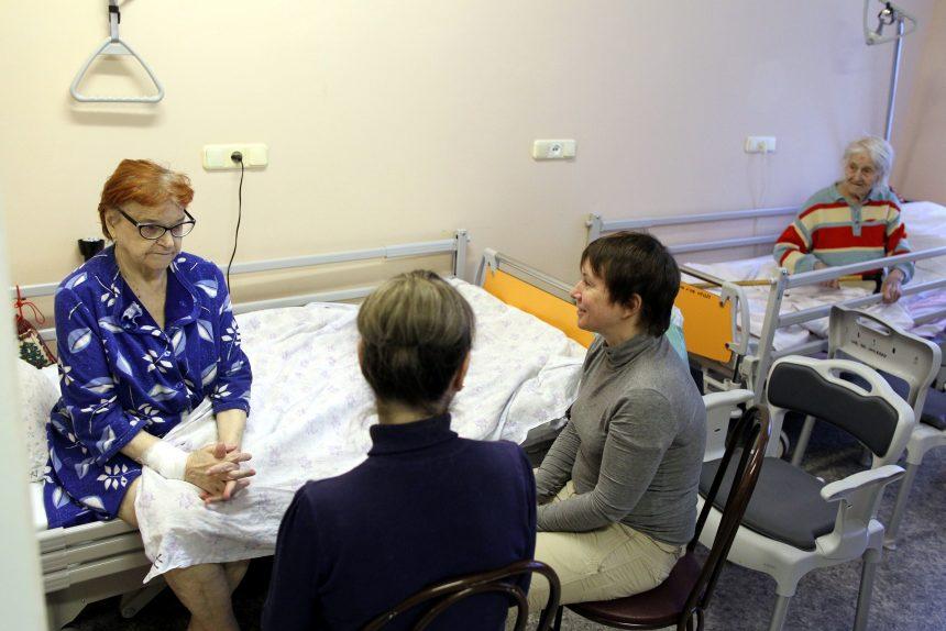 центр боли паллиативная медицина больница врач медицина пожилые люди пенсионеры