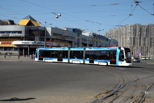 трамвай Метелица В85300М Штадлер Минск
