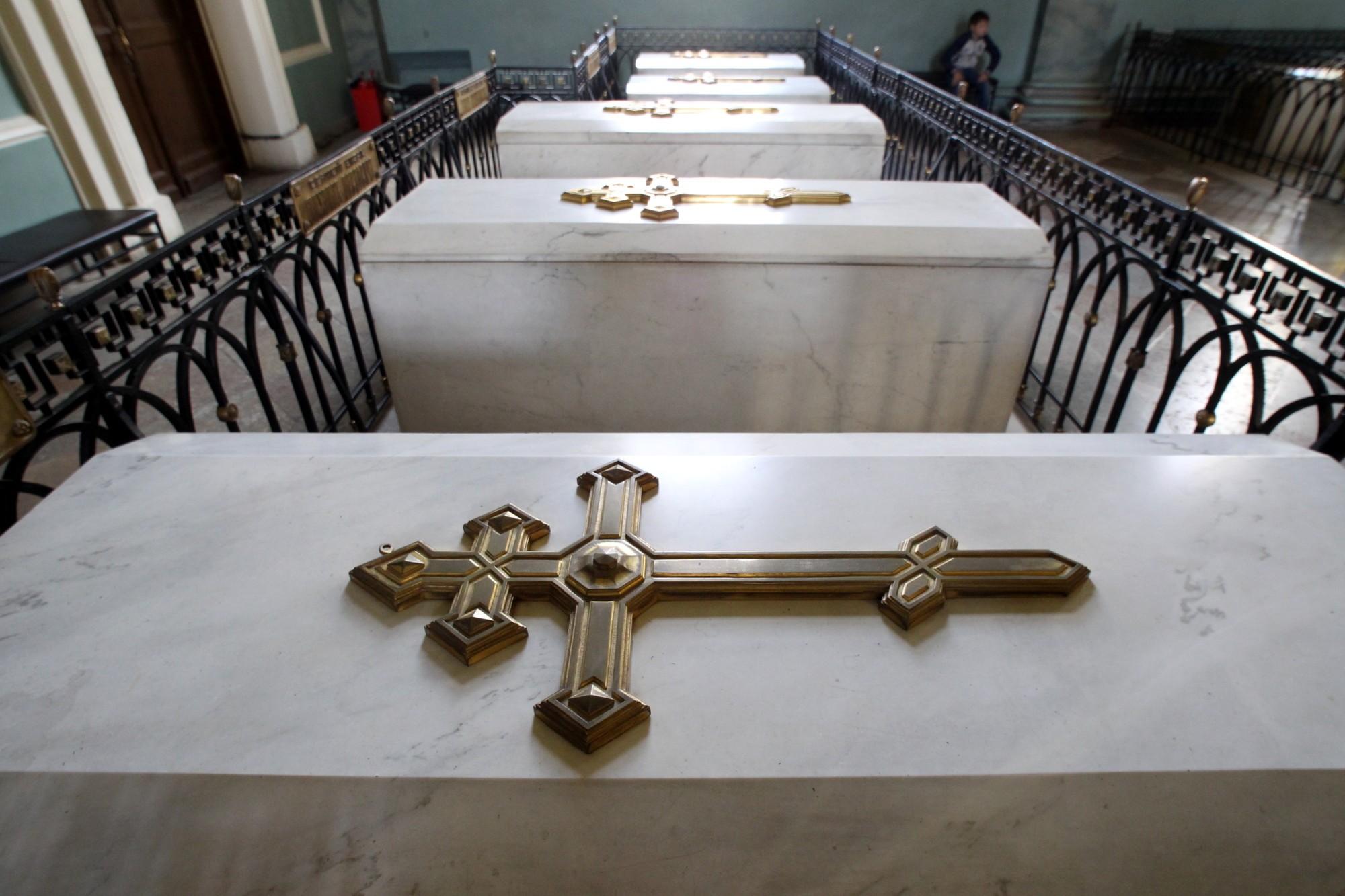 усыпальница Петропавловский собор царская гробница