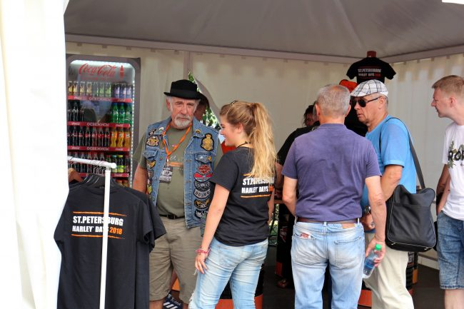 мотофестиваль Harley Days мотоциклисты