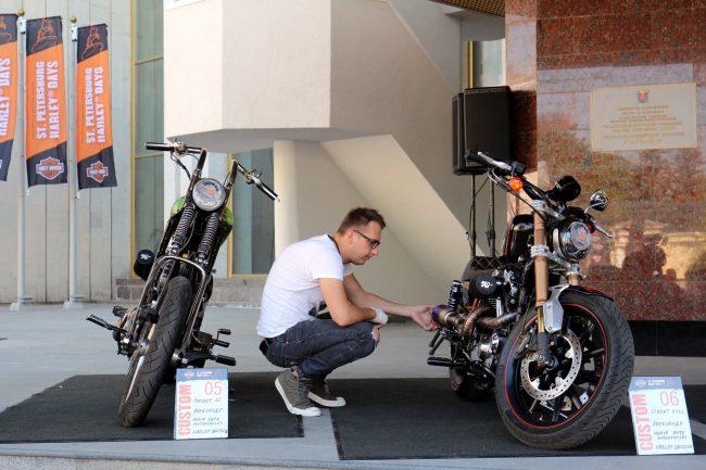 мотофестиваль Harley Days мотоциклы
