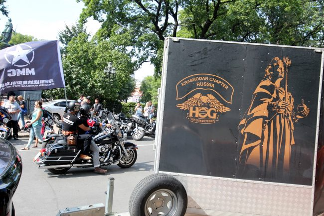 мотофестиваль Harley Days мотоциклисты байкеры