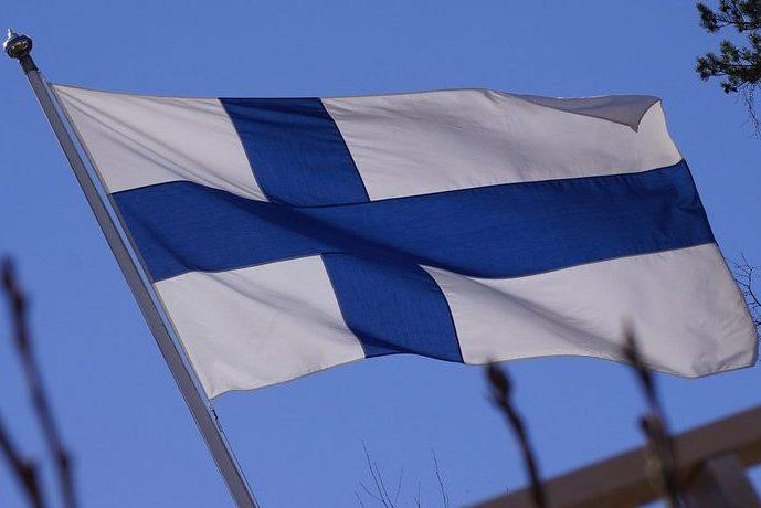 финляндия флаг финляндии